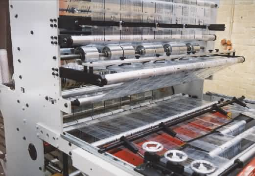 Multilane Captive Flap/Sandwich Bag Machines